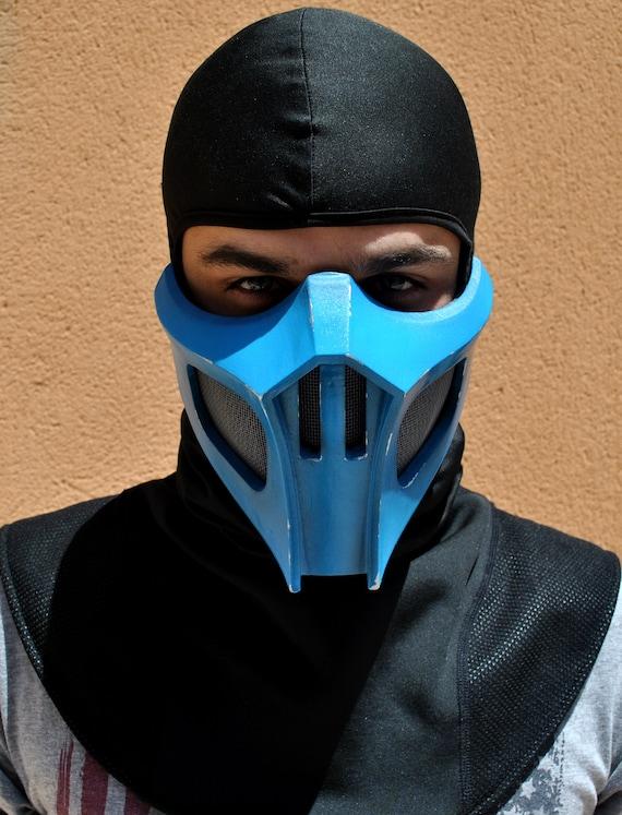Sub Zero Mortal Kombat Mask Replica Forjadict3d Fan Art Etsy