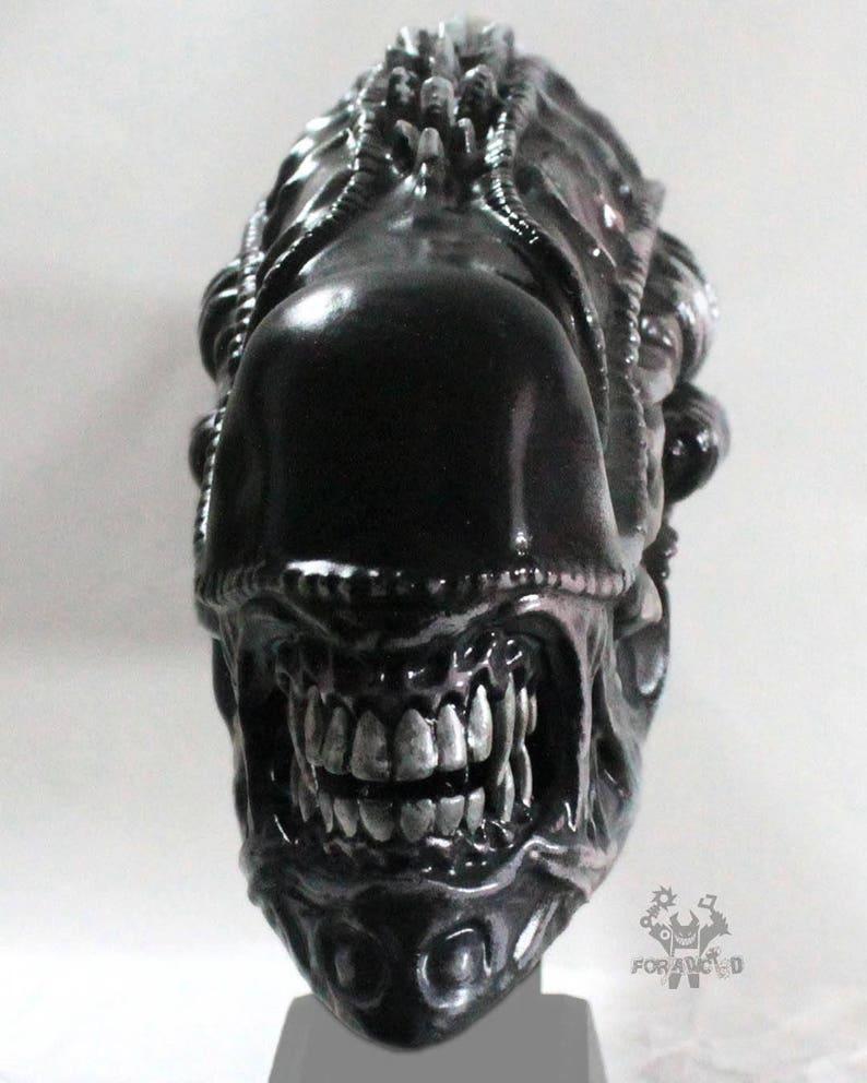 ac7b79387170 Replica de Cabeza de Alienigena Xenomorfo Guerrero Diseño