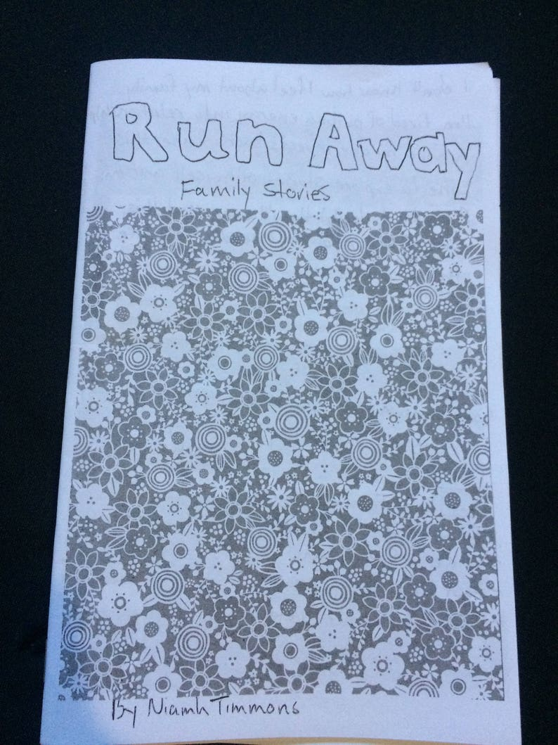 cover of Run Away zine
