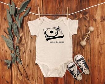 FOECBIR Turntable Music Baby Boys 100/% Cotton Tee Infant