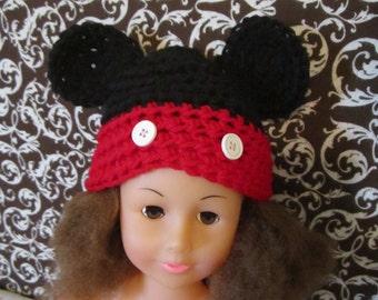 Mickey Mouse Newborn Hat