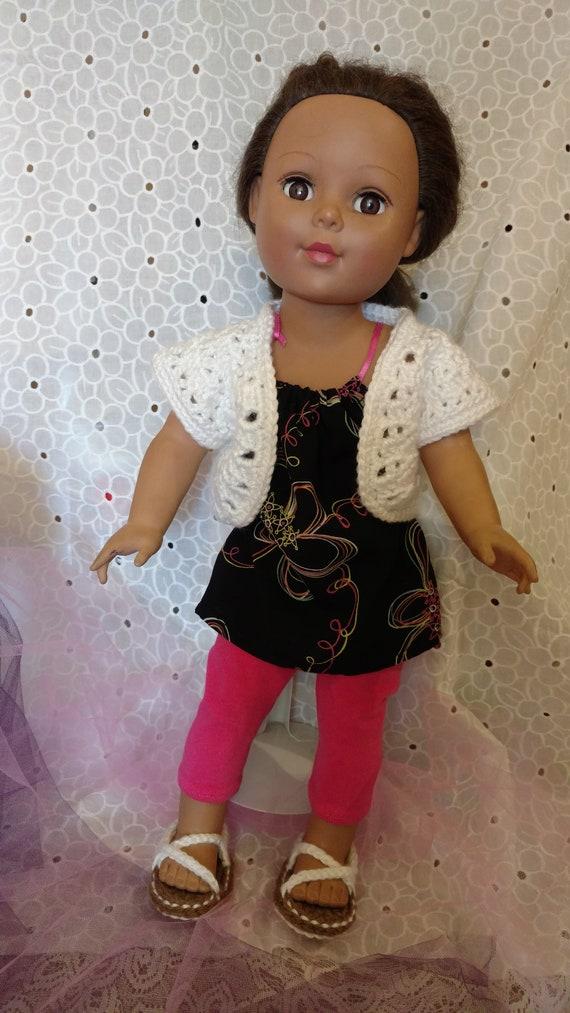 American Girl Doll Kimberly Shrug Crochet Pattern Etsy