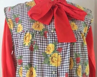 Sunflower Smock Dress
