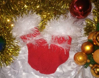 children's socks. for Christmas and New Year