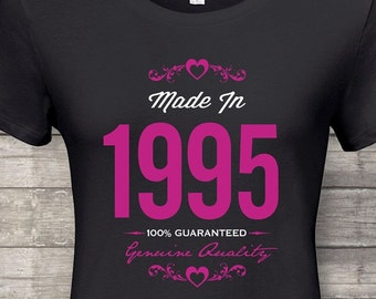 More Colors Made In 1995 Guaranteed 23rd Birthday Gifts For Women