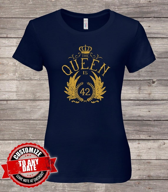 The Queen Is 42 42nd Birthday Gifts For Women