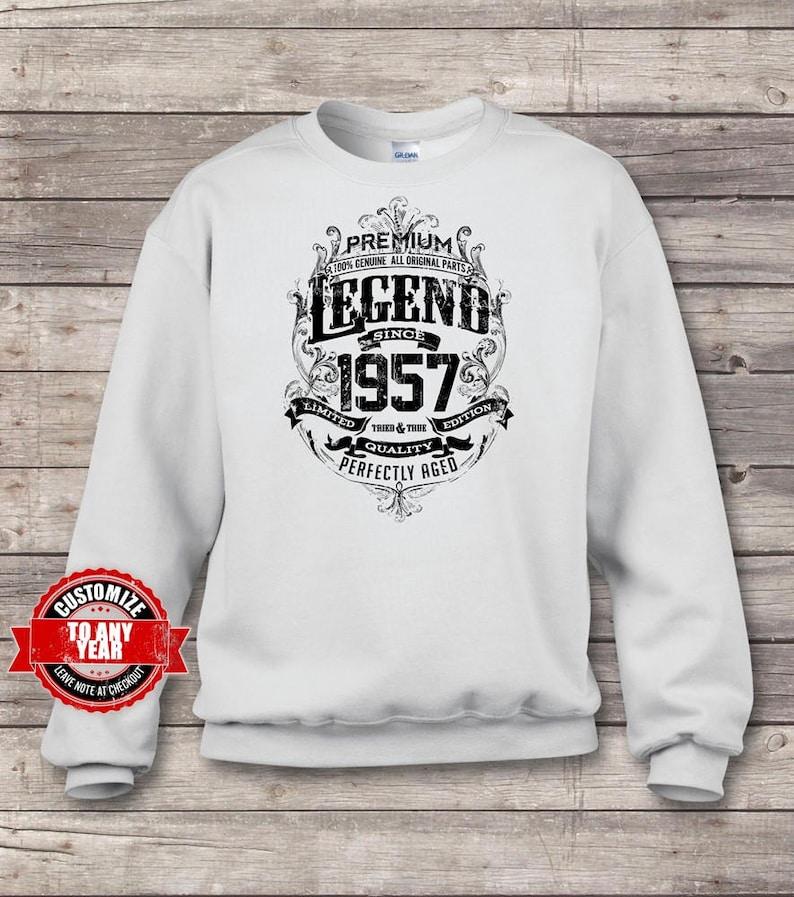 62nd birthday 62nd birthday gifts for men gift for 62nd Premium Legend Since 1957 62nd Birthday Sweatshirts 62nd birthday gift