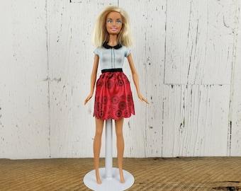 Short Hair Barbie Etsy