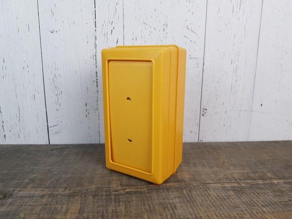 Diner Vintage serviette distributeur porte rectangulaire jaune doré ...
