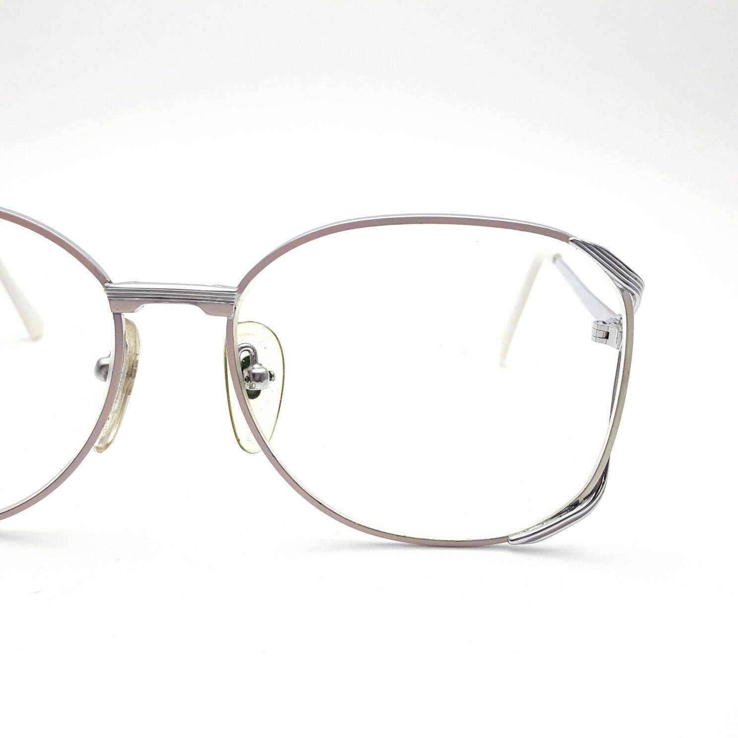 SuperLux Orly Brillen Metall Vintage aus den 80ern Blush rosa