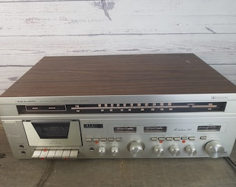 Vintage Early 80s Realistic AM/FM Stereo Compact Cassette Music System Integrated Amplifier / Dolby / Tape Player & Recorder / w/ Manual