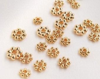 5 Dollar Signe Spacer Beads