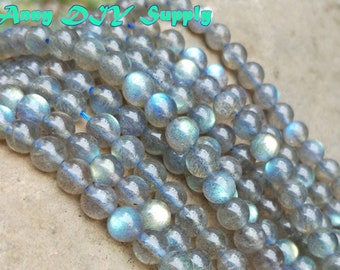 Moonstone Beads with strong bluish light AAAA grade  labradorite natural stone beads Semi precious Gemstone Beads,Rainbow Moonstone XY039