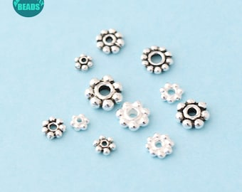 Pcs Plated Art Hobby Jewellery Plated Iron Round Spacer Beads 5mm Silver 150