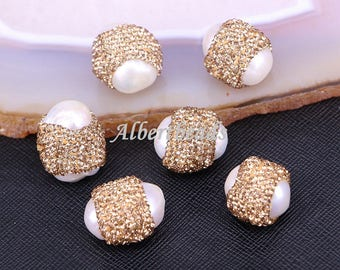 Sparkly Crystal Pearl Beads Jewelry Findings 7b7db9428cf1