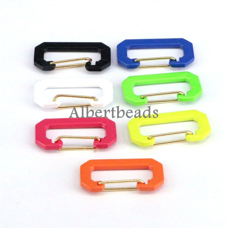 10PCS Mix color enamel connector beads Fit for Necklaces bracelets earrings jewelry making