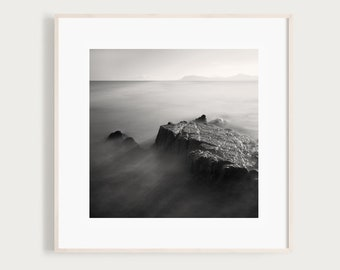 Rays, Black and White Photography Print from Dalkey, Ireland