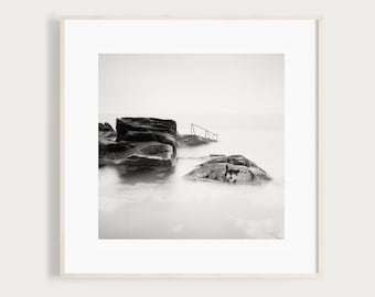 Black and White Photography Print of the 40 Foot, Sandycove, Co. Dublin, Ireland