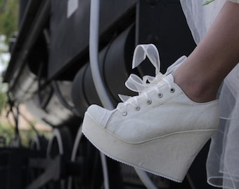 4bebb4f315fe Bridal sneakers