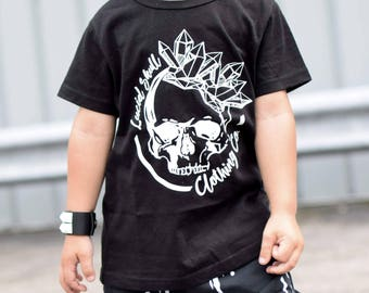 77fddbfe2 Girls skull shirt