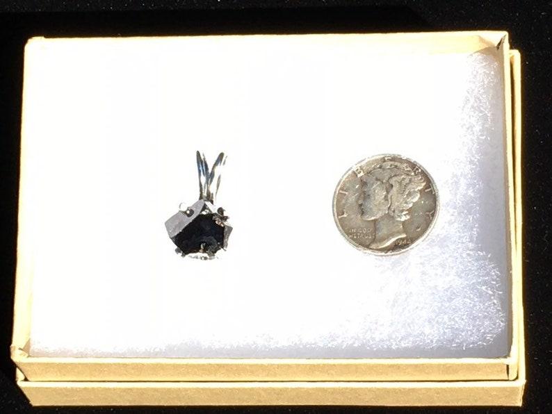 10mm #793 BIXBYITE Large Sterling Silver PENDANT