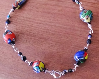 Multicolored Bold necklace