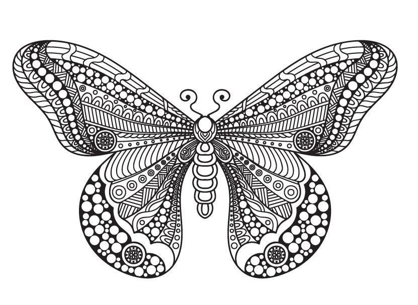 Schmetterling Mandala Svg/Schmetterling Svg/Mandala/Tier ...