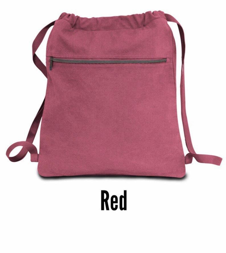 Drawstring Teacher Bag