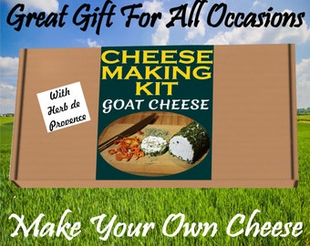 Cheese Making KIT Goat Cheese & Herbs de Provence Great Gift Present Birthday