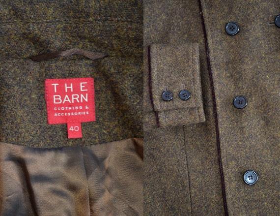 Vintage brown 100 amp; blazer Accessories The Clothing women Barn wool gwBgqr