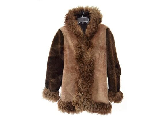 Vintage coat / Fur coat / Women coat / Genuine fur