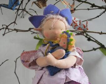 Waldorf doll ELLY Puppenelfchen