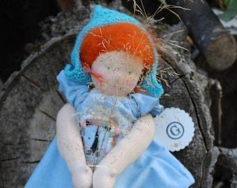 Doll Child Lene By type of/Waldorf doll/Waldorfdoll