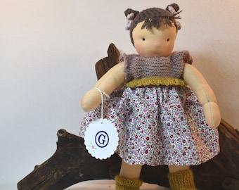 """Doll child """"MATHILDA"""" rag doll style / Waldorf doll / Waldorf doll"""