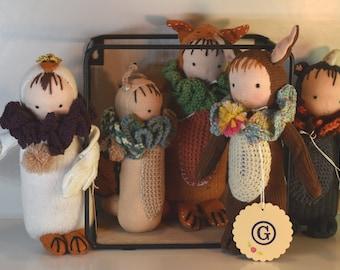 Friends / cuddly dolls Waldorf style Waldorf doll