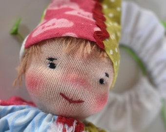 Kasper doll after Waldorf style