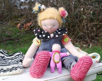 Doll child LUZIE cloth doll by type / Waldorf doll / Waldorfdoll