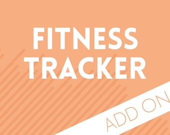 Planner Add-on : Fitness Tracker Pages
