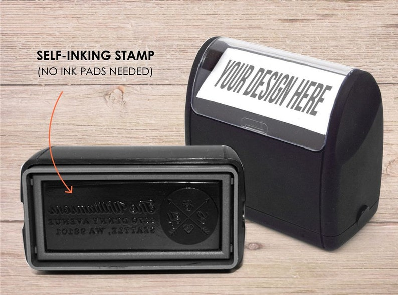 deco frame stamp self inking address stamp self inking stamp personalized address stamp custom stamp Address Stamp custom address