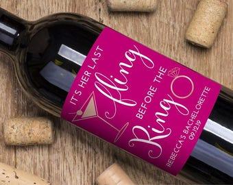 Wine Labels, custom wine labels, custom labels, custom celebration labels, wine, wine label, personalized wine labels, bachelorette