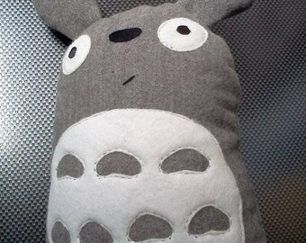 Tonari no Totoro Toy pillow Decorative pillow-soft toy baby pillow oval kashemir Felt leatherette