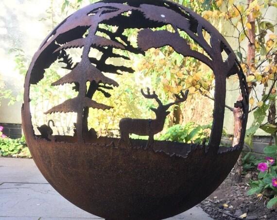 Fire Pit Globe - Dreamy Woodland Wonders