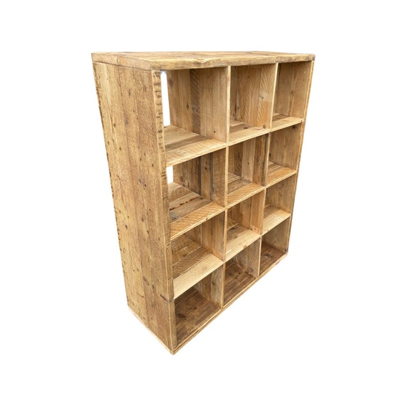 Scaffold Cube Storage compatible with ikea Kallax unit and other inserts