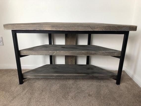 Corner TV Stand// Home Office Furniture
