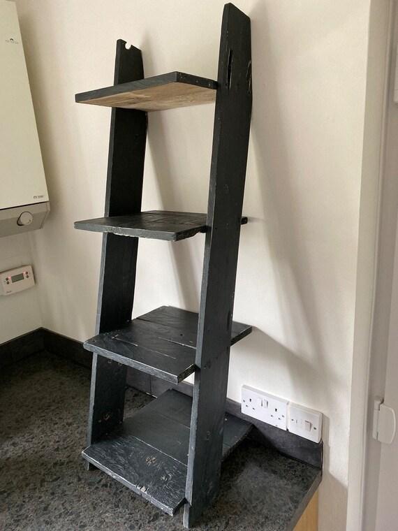 Ladder Shelf Black