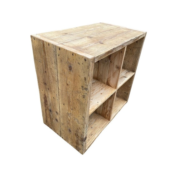Cube Storage Unit compatible with IKEA Kallax unit and other inserts