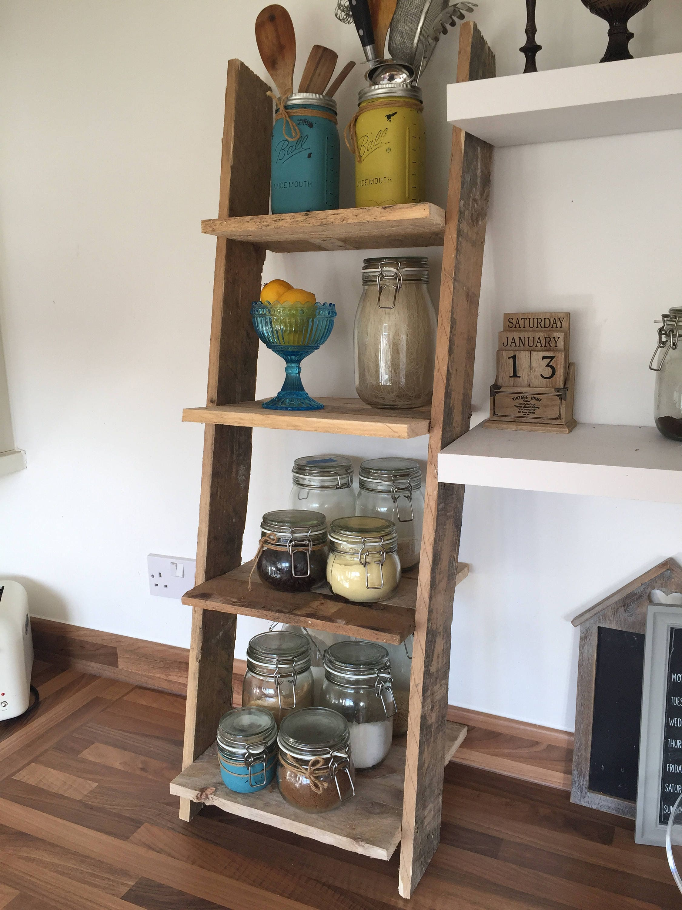 Small Rustic Shelves Reclaimed Pallet Wood