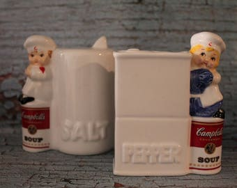1996 Campbells Soup Salt & Pepper Shakers