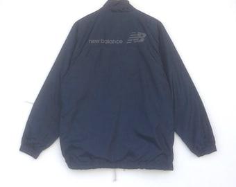 New Balance Light Jacket Windbreaker Jacket Big Logo Medium Size Wind  Runner Rain Jacket Sweater Jumper Hoodie Sweatshirt Vintage 90 s 561f293c7