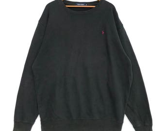 1b8c08c6987c6 Vintage 90 s Polo Golf Ralph Lauren XXL Size Sweatshirt Crewneck Jumper  Pullover Pwing Stadium Snow Beach Lo Life Cookie Hi Tech
